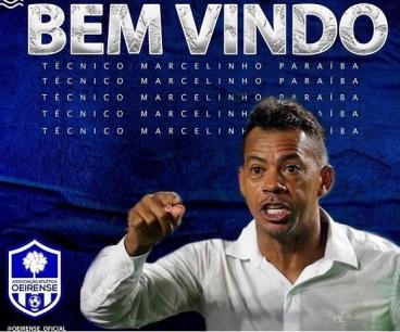 Marcelinho Paraíba é novo técnico do Oeirense para disputa do Piauiense 2022